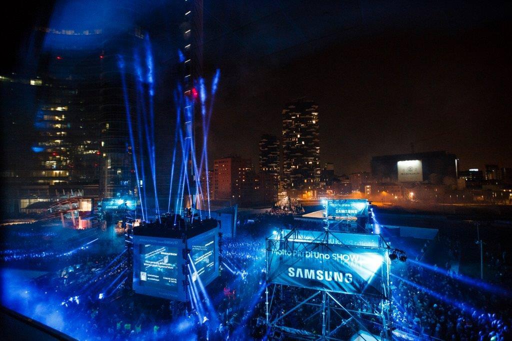 SamsungS7Show – LASER SHOW