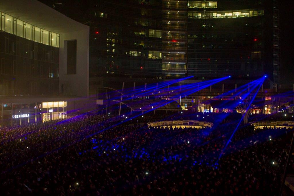 SamsungS7Show – 20.000 PERSONE