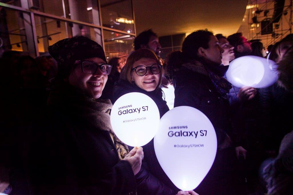 SamsungS7Show – ATTIVITA' DI ENGAGMENT